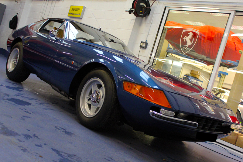 Ferrari 356/GT4 'Daytona' Berlinetta Gloss Enhancement Treatment