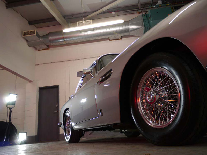 Aston Martin DB5 - Full Paintwork Correction