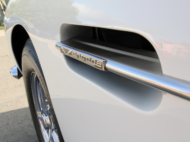 Aston Martin DB6 Full Paintwork Correction