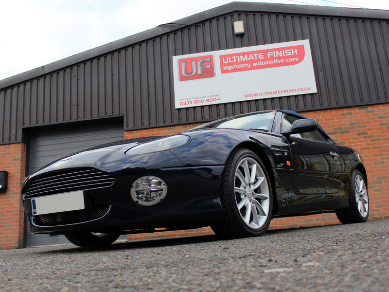 Aston Martin DB7 Restored to Concours Winning Ways
