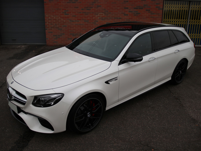 017 Mercedes-AMG E63S V8 BiTurbo Estate - New Car Protection Treatment