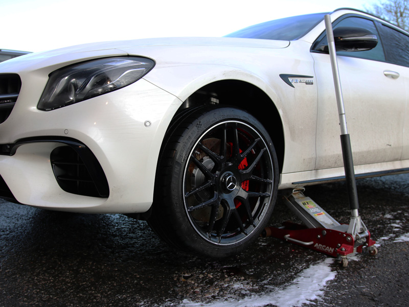 2017 Mercedes-AMG E63S V8 BiTurbo Estate - New Car Protection Treatment