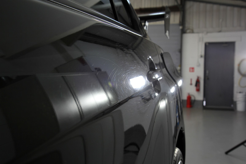 Mitsubishi Lancer Evolution X SST - Paint Correction Treatment
