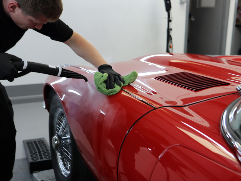 Jaguar E-Type Series 3 - Gloss Enhancement Treatment