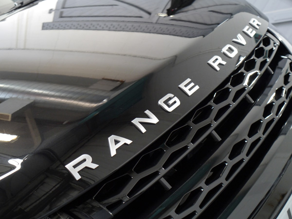 Range Rover Evoque Si4 protected with Gtechniq C1 Crystal Lacquer + and EXO v2