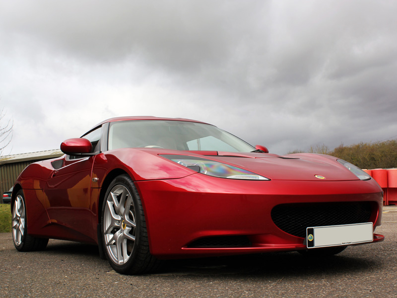 Lotus Evora Prepared For Sporting Bears