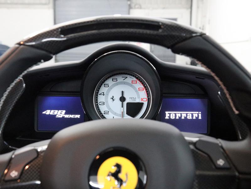 2017 Ferrari 488 Spider - New Car Protection Treatment