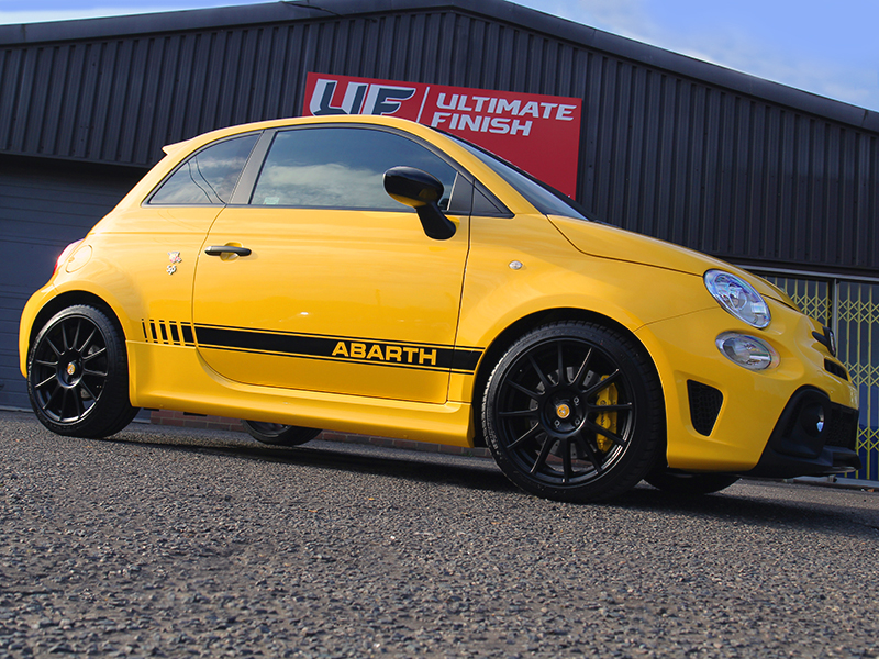 Fiat Abarth 595 Competizione Receives New Car Protection Treatment