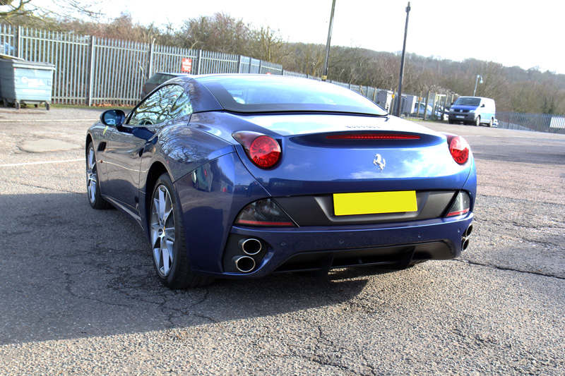 Ferrari California - Sale Preparation