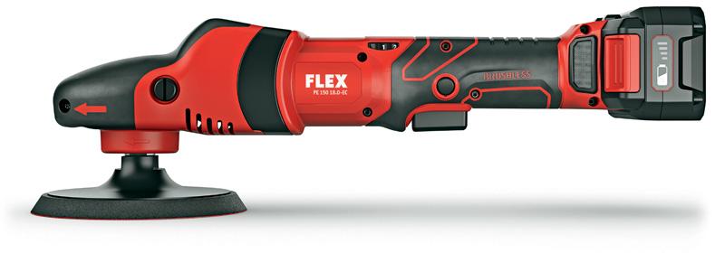 Introducing the FLEX XFE15 150 Cordless Roto Random Orbital Polisher & PE 150 Cordless Rotary Machine Polisher