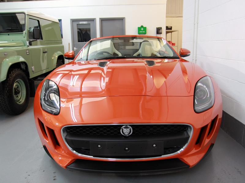 Jaguar F-Type Full Paint Correction