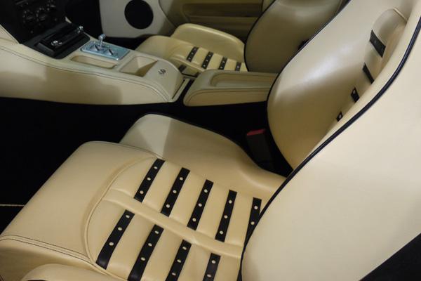 Swissvax Leather Care on Ferrari 575M Maranello at Ultimate Detailing Studio