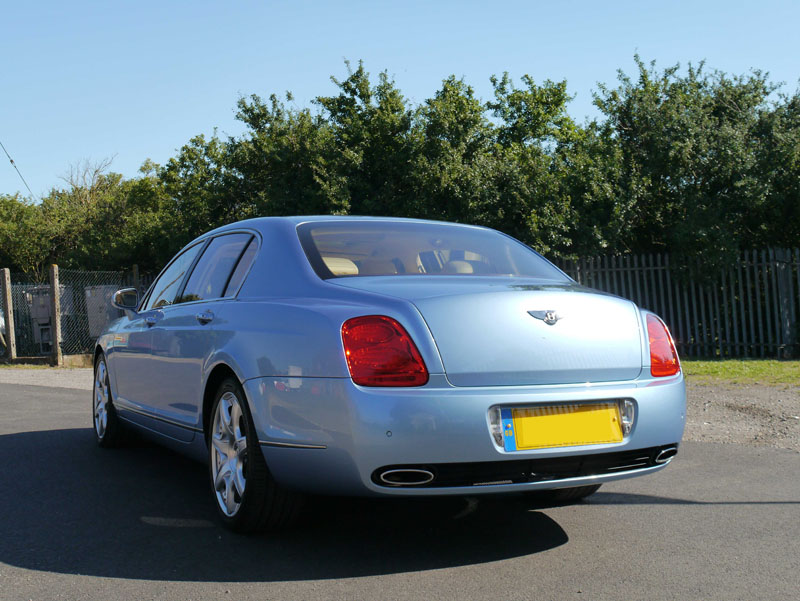 Bentley Flying Spur in Silverlake Blue - Gloss Enhancement Treatment