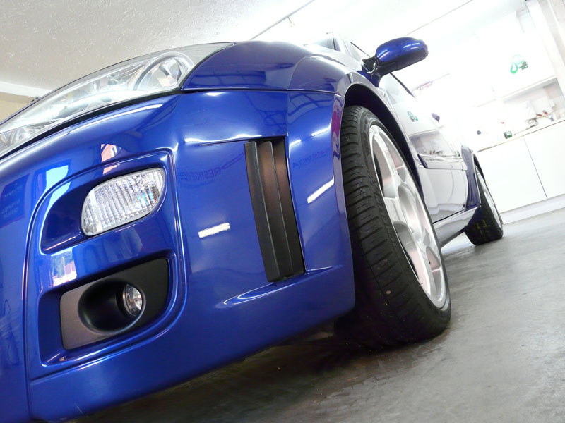 Ford Focus RS protected with Gtechniq C1 Crystal Lacquer