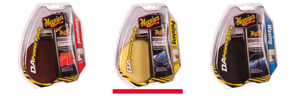Meguiar's Polishing DA Power Pack
