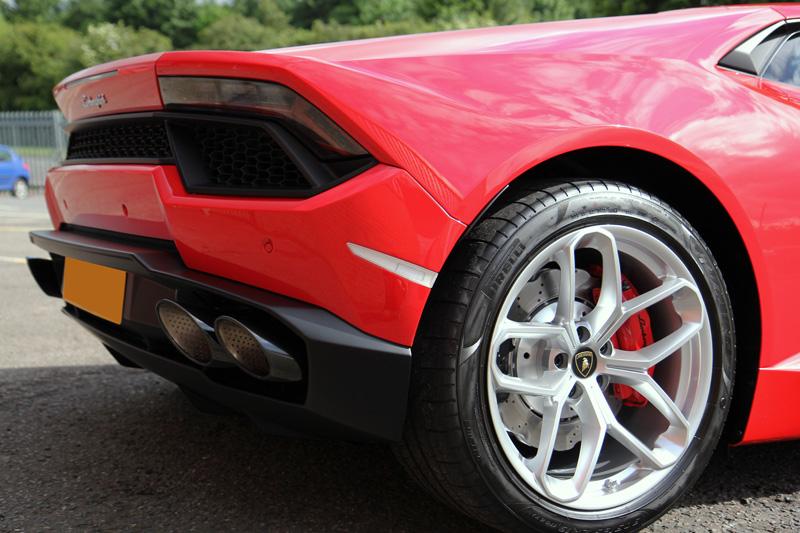 Lamborghini Huracan RWD Coupe   New Car Protection Treatment