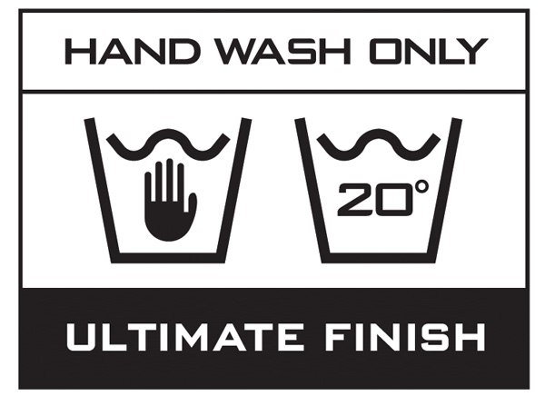Hand Wash Only - Ultimate Finish
