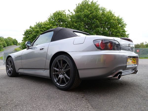 A Silverstone Silver Honda S2000 Receives Paint Protection