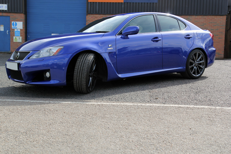 Lexus IS F Paintwork Correction Treatment