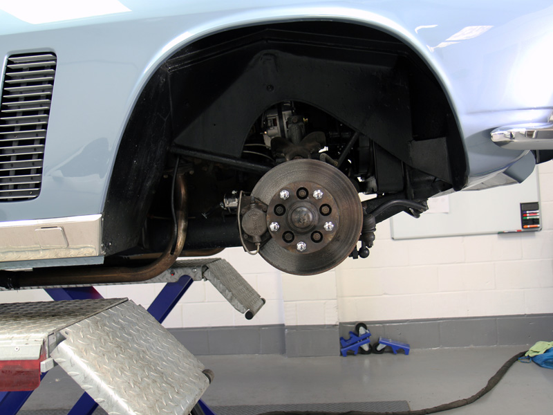 Jensen Interceptor Mk 1 - Paint Correction & Show Car Preparation
