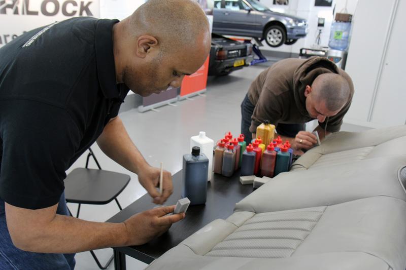 uf hosts colourlock leather care repair training day. Black Bedroom Furniture Sets. Home Design Ideas