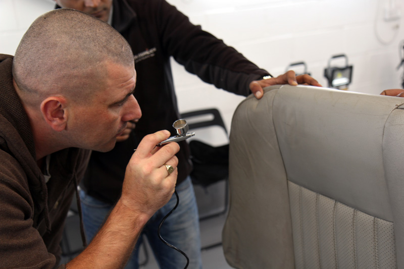 Training Days at UF - Colourlock Leather Care & Repair Training Event