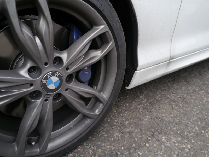 New Car Protection for BMW 1 Series M135i in Alpine White