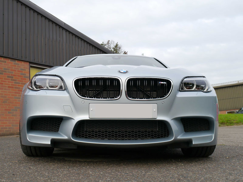BMW M5 V8 Competition Package in Silverstone Blue - New Car Protection at Ultimate Detailing Studio