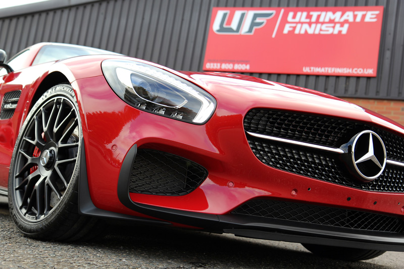 Mercedes Benz AMG GTS Edition 1 - Gloss Enhancement Treatment