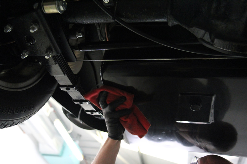 MGB GT V8 - Gloss Enhancement Treatment