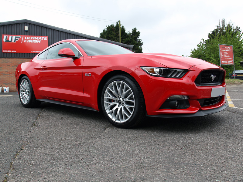 2017 Ford Mustang 5.0 V8 - New Car Protection Treatment