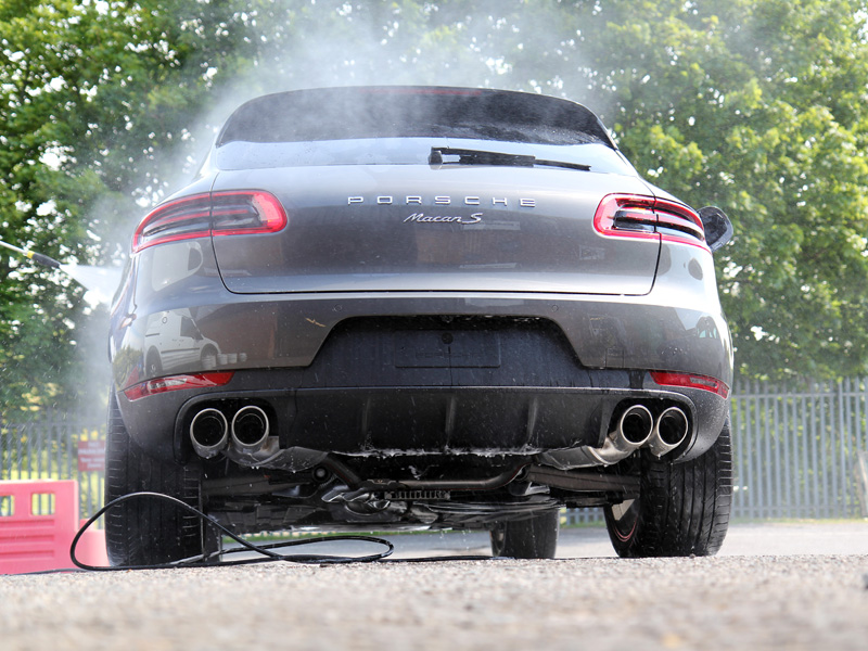 Porsche Macan S Diesel New Car Protection Treatment