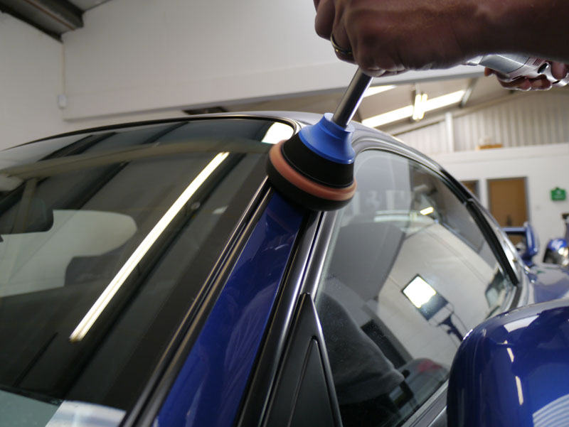 Time Warp Mazda RX7 - Gloss Enhancement Treatment