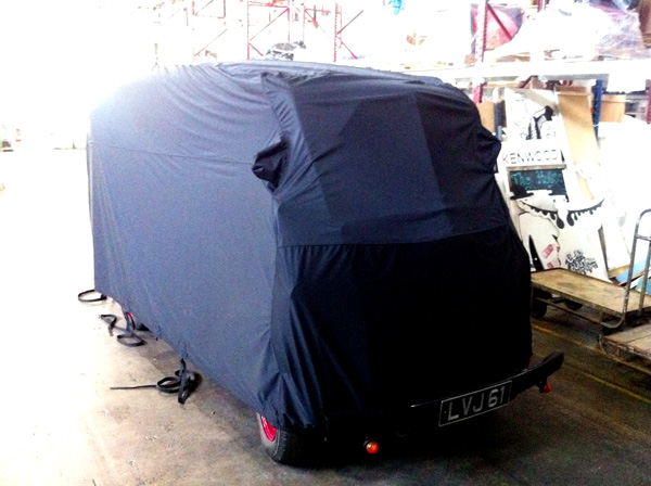 Specialised Covers Elite Transportation Cover for Kenwood Morris J-type van