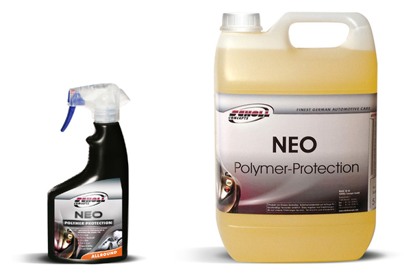 SCHOLL Concepts NEO Polymer Protection - reblackens faded trim, adds shine to paintwork & wheels