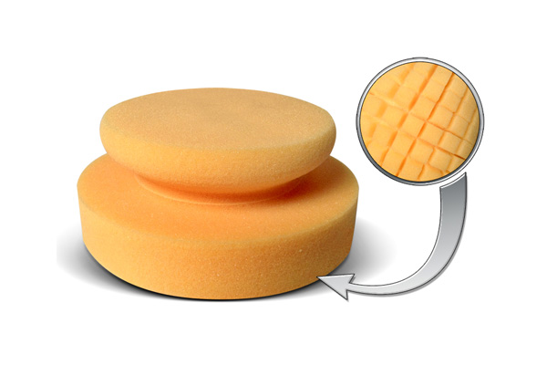 SCHOLL Concepts NEO Honey Spider Hand Puck - applicator with calibrated surface