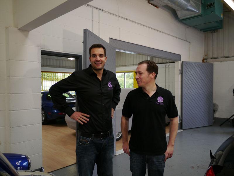 Ultimate Finish Host The First UK Nanolex Detailer Training Day