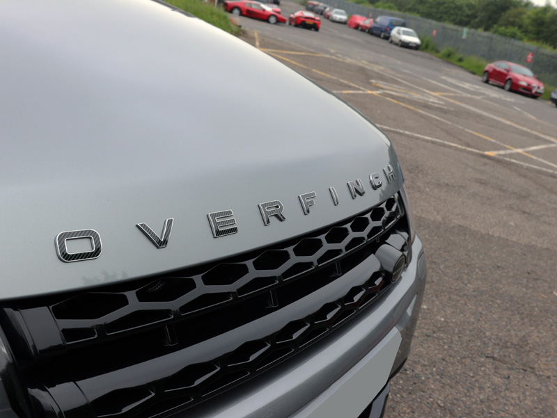 Overfinch Range Rover - Gloss Enhancement Treatment