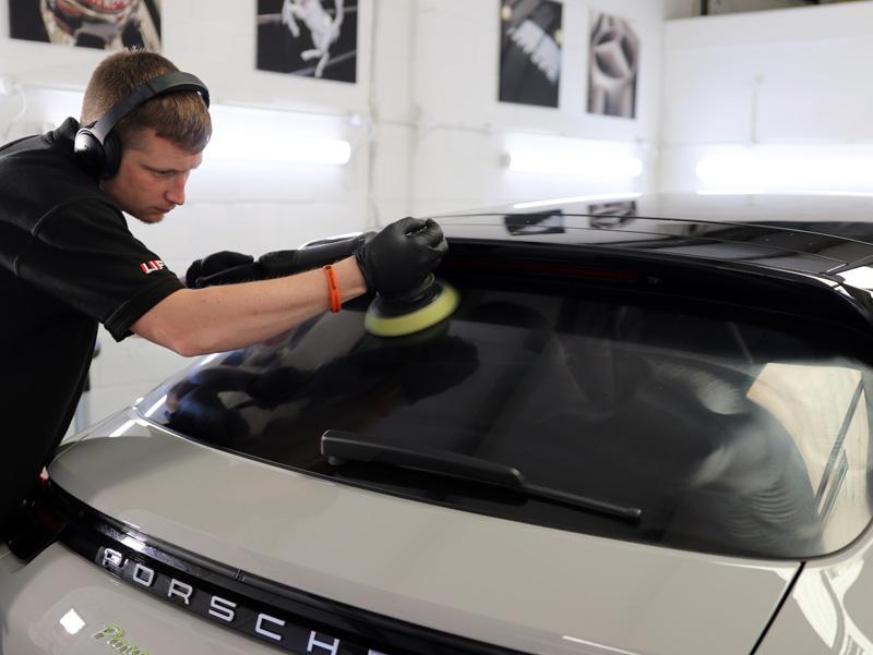 2018 Porsche Panamera Turbo S e-Hybrid - Gloss Enhancement Treatment