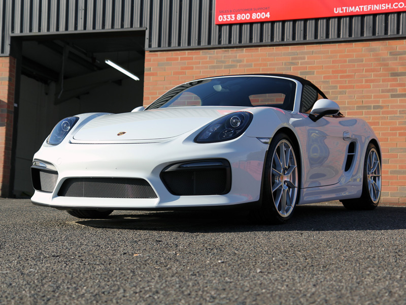 Ordinaire Porsche Boxster Spyder   New Car Protection Treatment