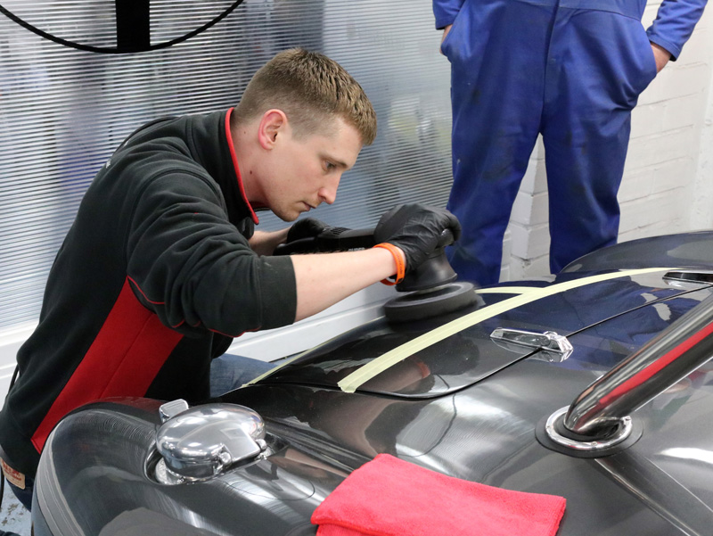 Polishing Perfection - A Training Day Visit To Pilgrim Motorsports