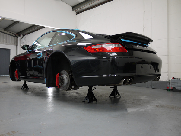 Porsche 997 Carrera S - Gloss Enhancement Treatment