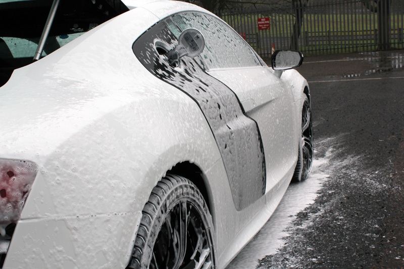 Audi R8 Coupe V10 Plus Receives Gloss Enhancement At Ultimate Detailing Studio
