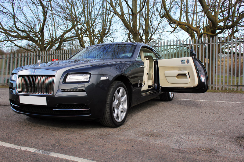 Rolls Royce Wraith Gloss Enhancement Treatment