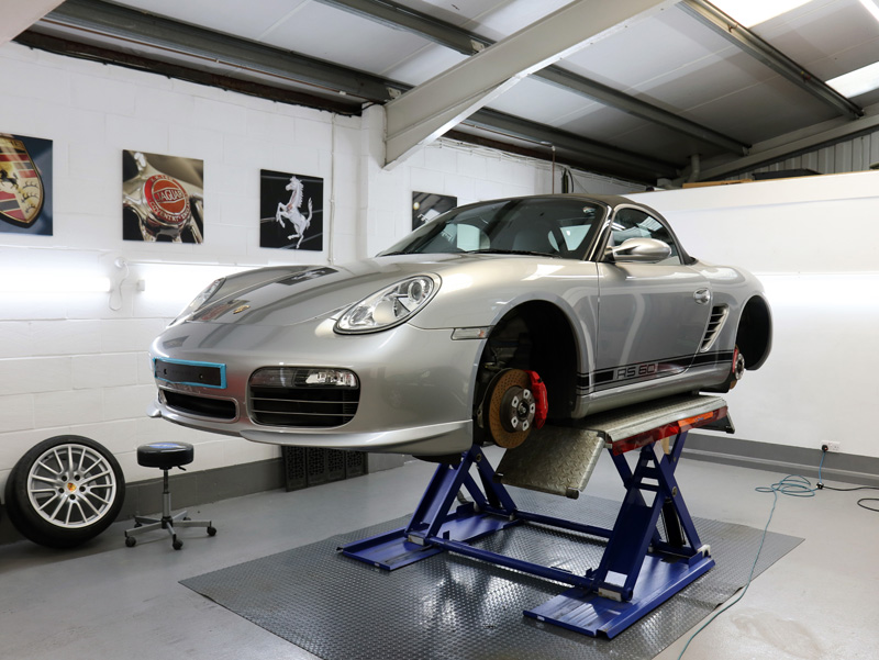 2008 Porsche Boxster RS 60 Spyder Limited Edition - Gloss Enhancement Treatment