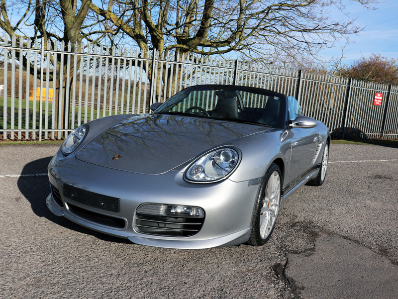 2008 Porsche Boxster RS 60 Spyder Limited Edition   Gloss Enhancement  Treatment