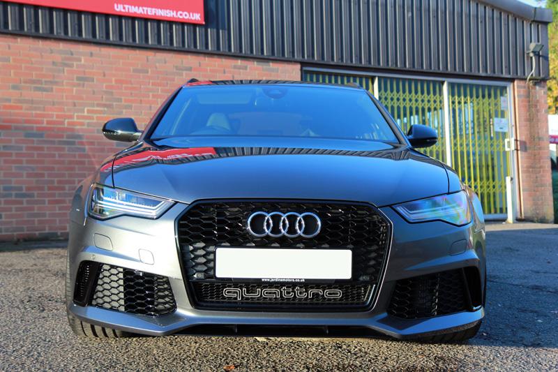Audi RS6 Avant TFSi Quattro - New Car Protection Treatment