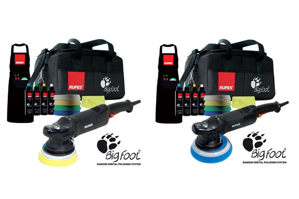 RUPES BigFoot Standard Kit LHR15ES and RUPES BigFoot Standard Kit LHR21ES