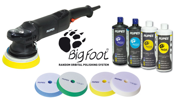 RUPES BigFoot Random Orbital Polisher Kit (LHR 15ES)