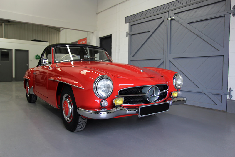1960 Mercedes-Benz 190 SL - Gloss Enhancement Treatment